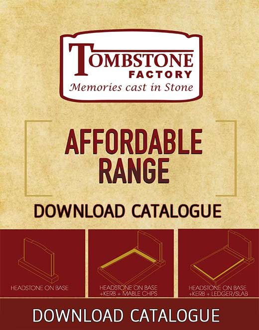 Tombstone affordable range catalog